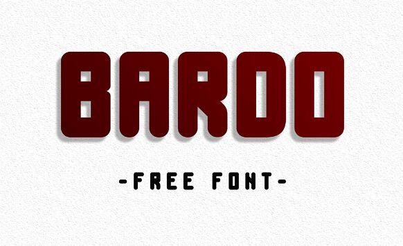 BARDO Display Font