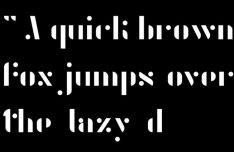 Agent Display Font