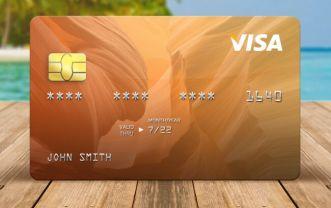 Realistic Credit Card Templates PSD