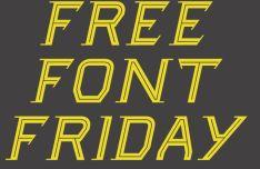Friday Display Font
