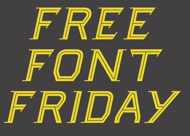Friday Display Font