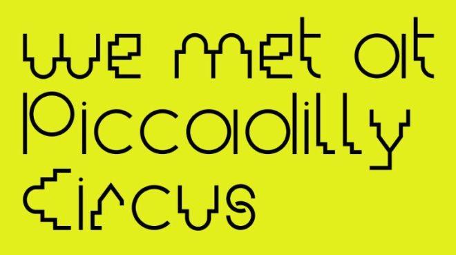 MD Maya Typeface