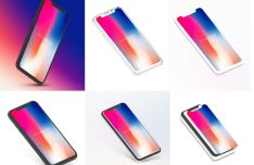 iPhone X Mockup With Different Angles
