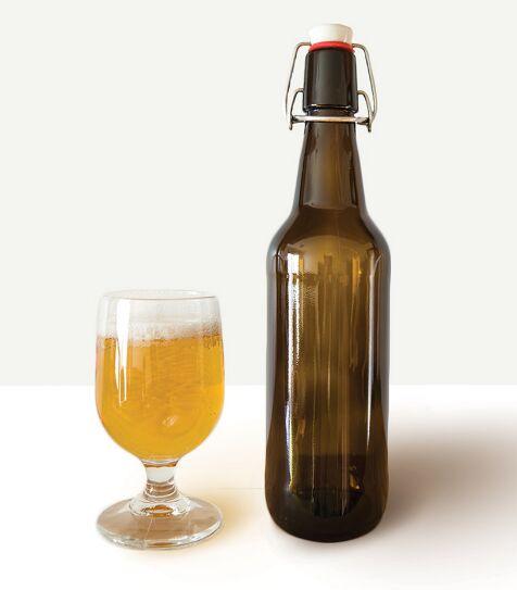 Craft Beer Bottle Mockup PSD