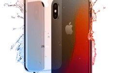 Simple Photorealistic iPhone X Mock-up PSD