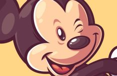 Mickey Mouse Vector Illustration