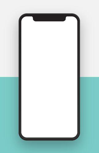 Free Realistic Blank iPhone X PSD Template - TitanUI