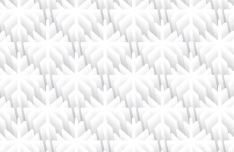 3D Snowflake Pattern Vector