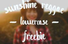 Sunshine Reggae Brush Font