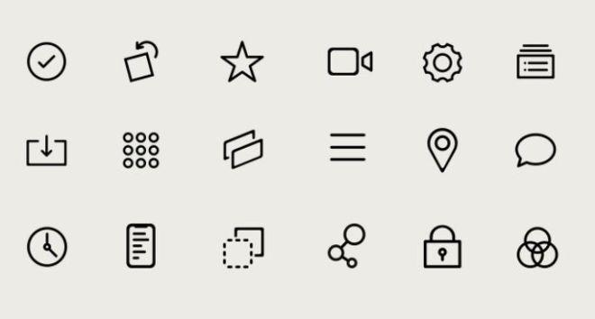 100 Generic UI Icons SVG