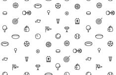 Minimal Sports Vector Icons
