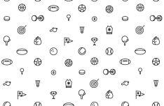 Minimal Sports Vector Icons