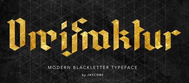 DreiFraktur Modern Typeface