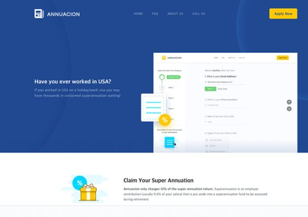 Annuacion Web UI Kit For Sketch