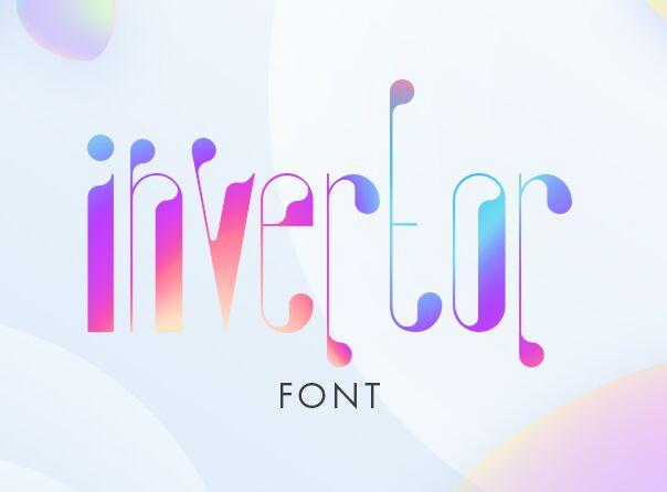 Invertor Creative Font