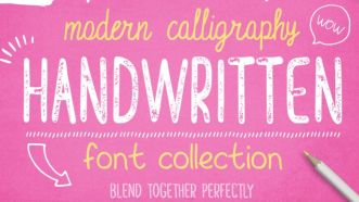 5 Modern Handwritten Fonts