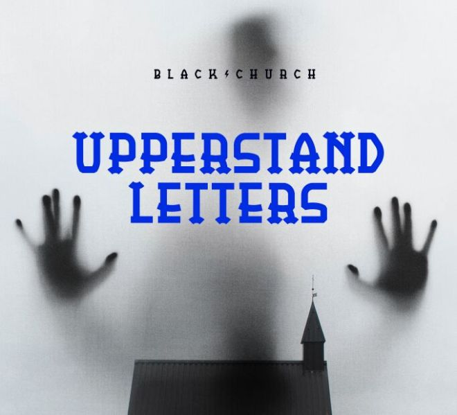 BlackChurch Display Font