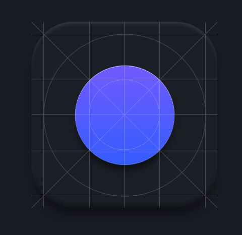 Rounded App Icon Template For Sketch