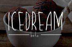 Icedream Handwritten Font