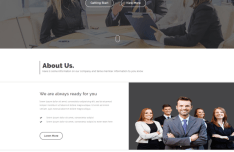 AGENCYPOINT Agency Landing Page Template PSD