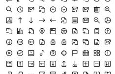 100 Essential UI Icons For Adobe XD