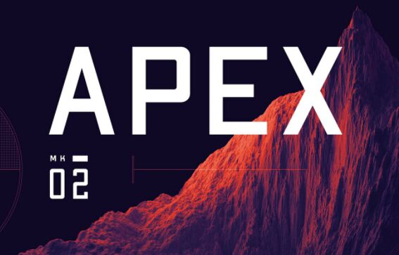 APEX Mk2 Display Font
