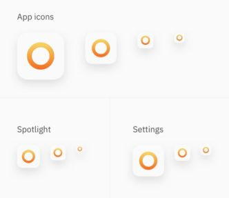iOS App Icon Template Sketch