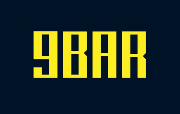 9BAR Display Font