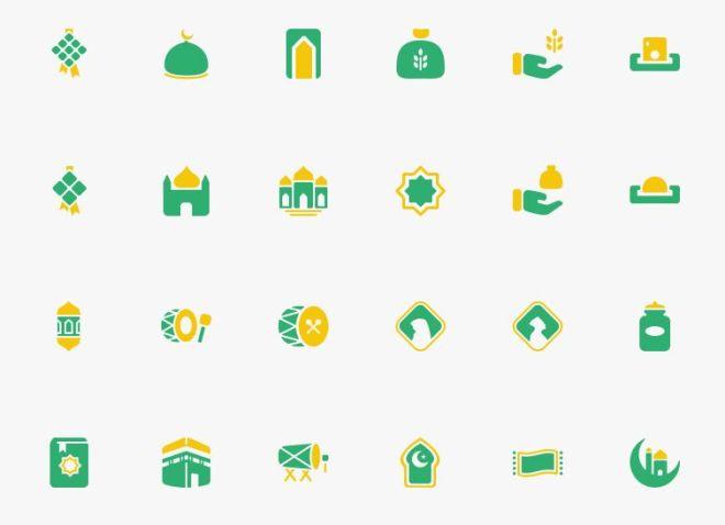 Ramadan & Eid al-Fitr SVG Icons-min