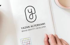 Minimal Logo Book PSD Mockup-min