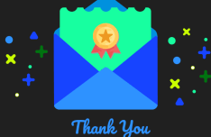 Sweet Thank You Card Vector-min
