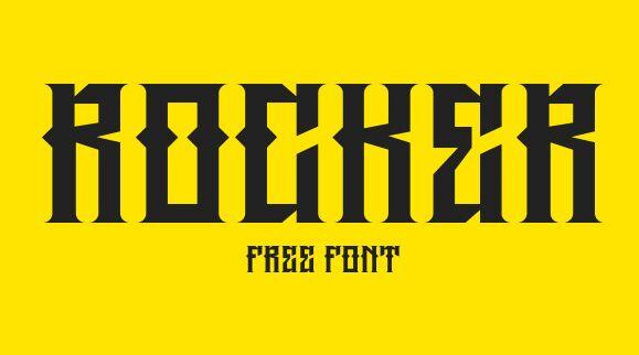 Rocker Gothic Font-min