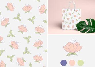Minimal Flower Pattern Vecotr-min