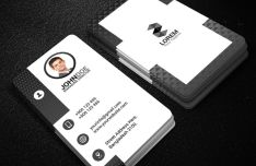 Photorealistic Print Ready Business Card Mockup PSD-min