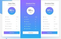 Professional Pricing Table For Sketch-min