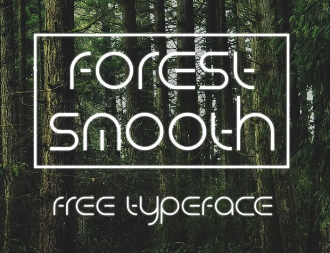 ForestSmooth Display Font-min