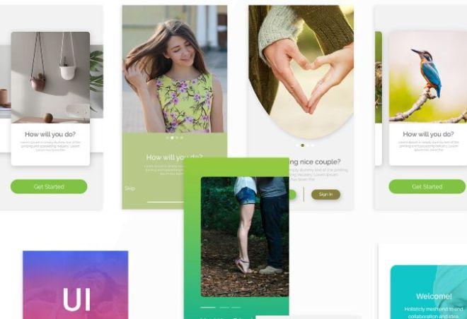 Modern App Screen Mockup-min