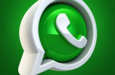 3D WhatsApp Icon PSD