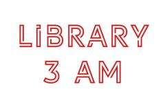 Library 3 AM Typeface
