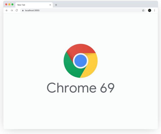 New Google Chrome 69 Sketch Mockup