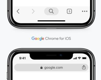 Google Chrome Browser For iOS Sketch