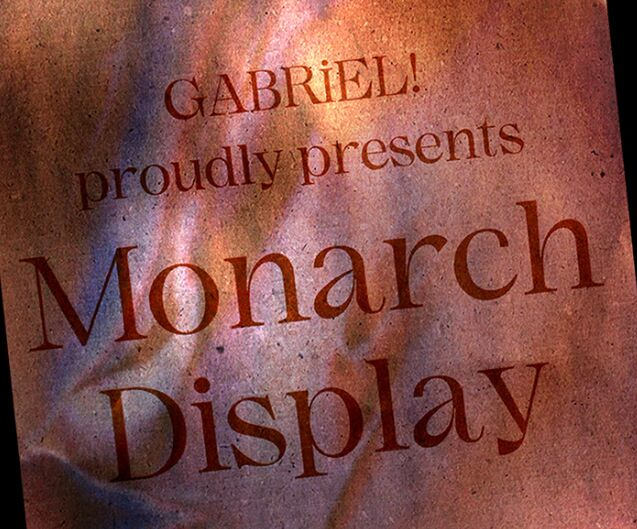 Monarch Display Font