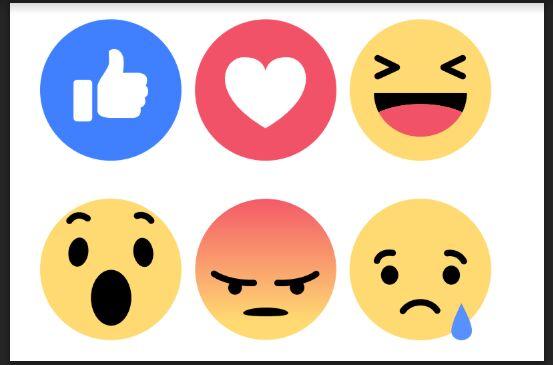 Facebook Reacts Vector