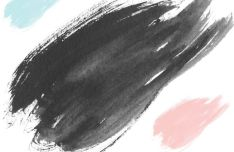 40 Watercolor Brushes For Photoshop