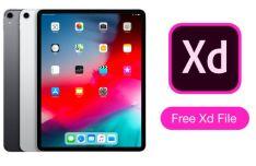 New iPad Pro 2018 XD Mockup