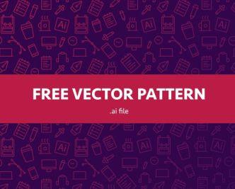 Life Pattern Vector
