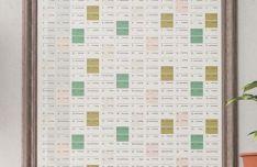 Printable Wall Calendar Planner 2019