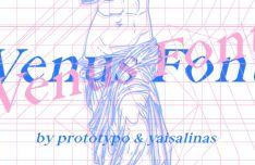 Venus Display Typeface