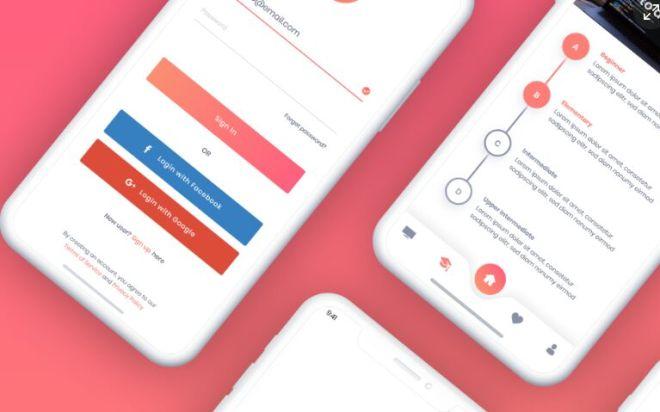 Plexus Mobile UI Kit For Adobe XD