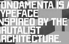 Fondamenta Display Font